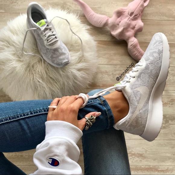 Nwt Nike Tanjun Lace Rare Pure Platinum